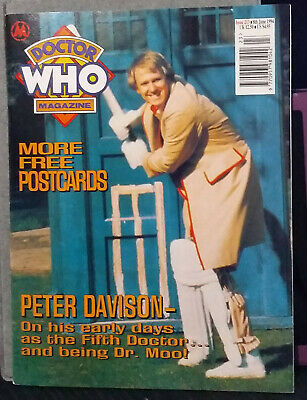 Doctor Who Magazine Issue 213, 8th June 1994