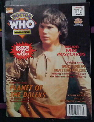 Doctor Who Magazine Issue 202, 4th August 1993