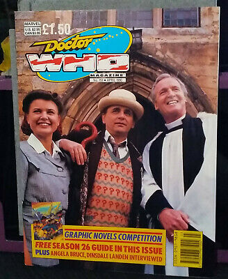 Doctor Who Magazine Issue 159, April 1990