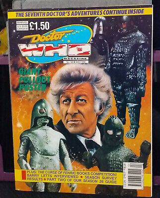 Doctor Who Magazine Issue 160, May 1990