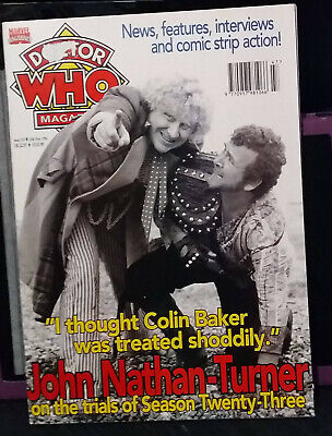 Doctor Who Magazine Issue 245, 20th November 1996