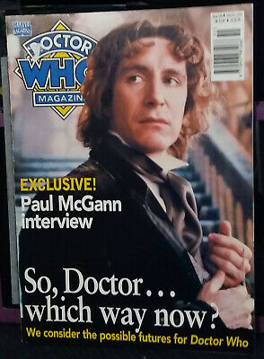 Doctor Who Magazine Issue 246, 18th December 1996
