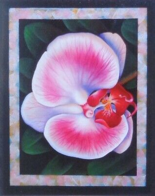 "Jillybean Fitzhenry tole painting pattern ""Exotic Orchid"""