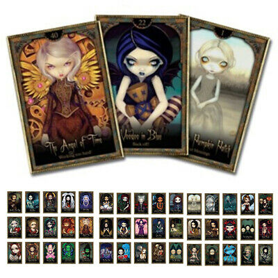 44pcs Shadow and Light Oracles Cards Playing Board Game Oracle Cards Gift