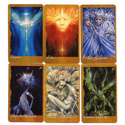66pcs The Faeries Oracle Cards Playing Board Game Oracle Cards Gift 10*6cm
