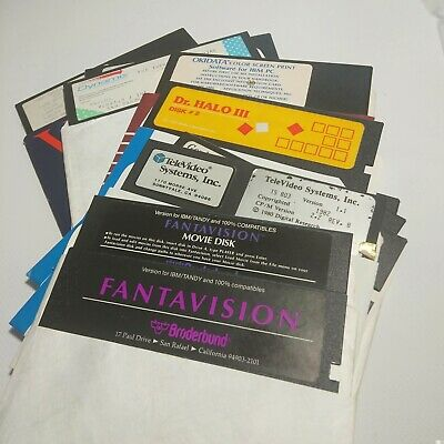 5.25 floppy disks (Assorted) 11 Disks