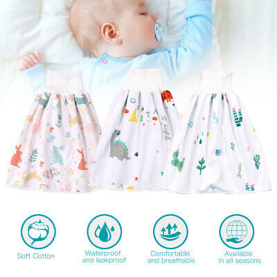 Washable Waterproof Diaper Cloth Skirt Cover Baby Infant Diaper Reusable Nappy