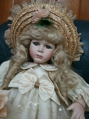 Caroline by The Florence Collection  Porcelain doll