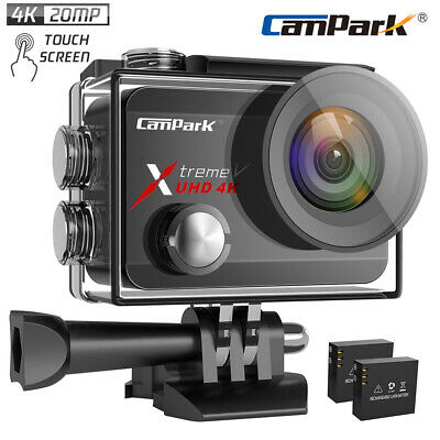 Campark Wifi 1080P 4K Ultra HD Sports Action Camera DVR Camcorder Waterproof US