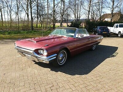 1964 Ford Thunderbird Convertible with 390ci FE V8 and automatic transmission.