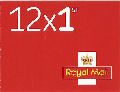 NEW booklet Royal Mail 12 1st First Class stamps, NO MARK-UP, same day dispatch