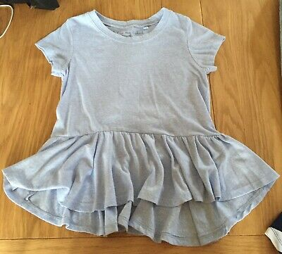 Girls Next Light Blue Top Size 6 Years
