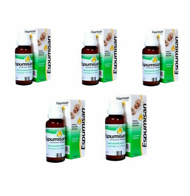 5X Espumisan Original Baby Anti Colic oral drops.Meteorism,Stomach Aches.30ml