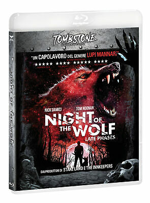 |052804| Night Of The Wolf (Tombstone) - Late Phases [Blu-Ray] Italian Import