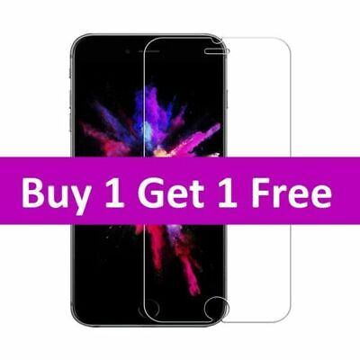 For iPhone 7 6 6s 5 8 Plus SE Gorilla Tempered Glass Screen Protector uk seller
