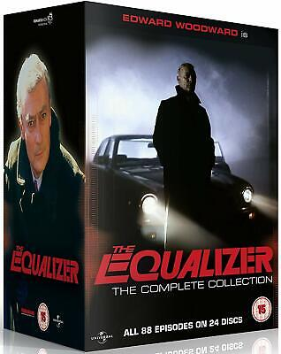 The Equalizer - The Complete Collection [1985] (DVD) Edward Woodward
