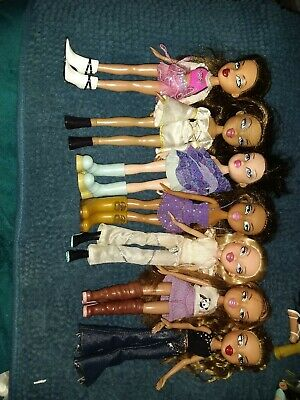 7 x Bratz Dolls Bulk lot A great lot of dolls in vgc from non smoking home