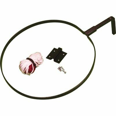 Central Wall Fitting Netball Ring with Net - New