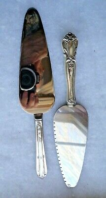 Web Sterling Silver Pie/Cake Server + FREE Vintage SP Server old patten
