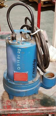 "Barnes EH1092L Submersible Effluent Pump 1 HP, 200/240v, 3 PH, 2"" NPT Discharge"