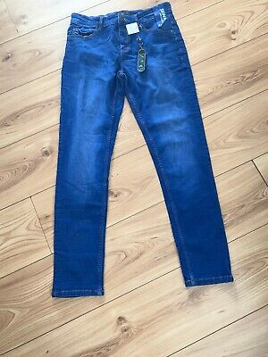 BNWT Next Boys Bright Blue Skinny jeans, Size 14
