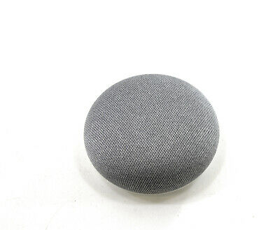 Google Home Mini (GA00210-US) Smart Assistant Speaker - Chalk