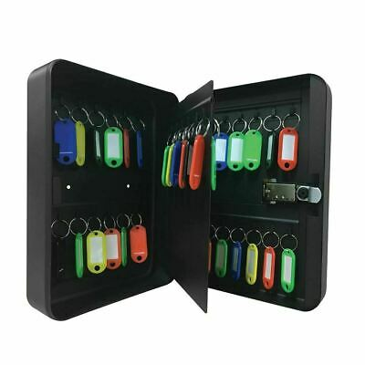 New 3 Digit Combination 36 Key Cabinet Wall Mount Metal Safe