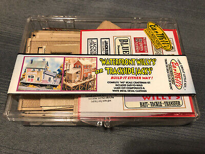 Bar Mills Waterfront Willy's Trackside Jacks Brand New Unopened