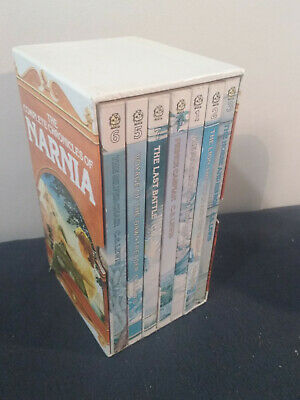 Vintage The Complete Chronicles Of Narnia 7 Book Box Set Paperback
