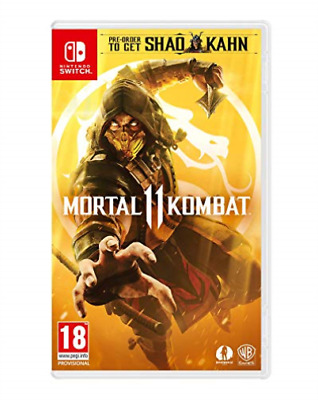 Nintendo Switch-MORTAL KOMBAT 11 GAME NUOVO