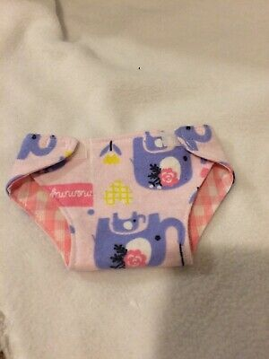 """15"""" Bitty Baby Cabbage Patch pink mommy elephant diaper girl Doll Clothes fit"""