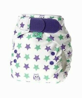 New! Tots Bots - Easy Fit V4 All in One - Cloth Diaper Nappy - Night Owl Print