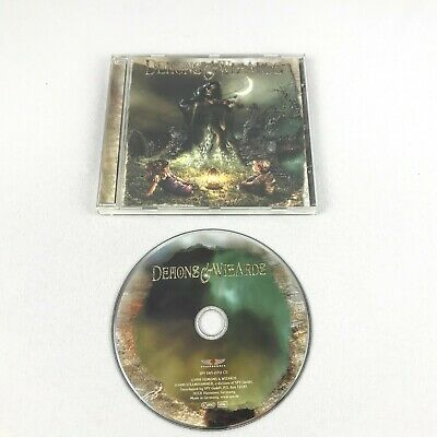 Demons & Wizards CD 1999 Metal Steam Hammer Germany Blind Guardian Rare