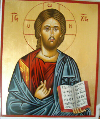 Jesus Christ Orthodox portable ,hand-painted byzantine icons
