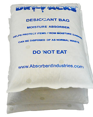 33 LBS Container & Cargo Dry Strip Pack Silica Gel Desiccant Storage Dry-Packs
