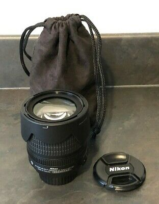 Nikon DX AF-S Nikkor 18-105mm 1:3.5-5.6G ED Zoom Lens With Soft Case #325