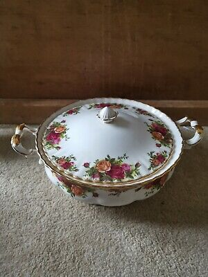 Royal Albert Old Country Roses Lidded Tureen 1St Quality.