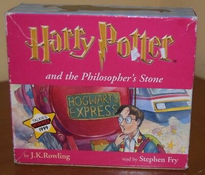 harry potter and the philosophers stone cd box set read by stephen fry