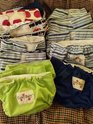 Cutey Baby Cloth Diaper Covers- 17 Available