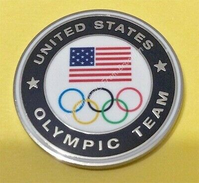 Tokyo Japan 2020 Summer Olympics - U.s. Olympic Team Official Round Pin