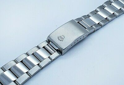 New 19mm 20mm Rolex Datejust Oyster Stainless Solid Steel Replacement Bracelet