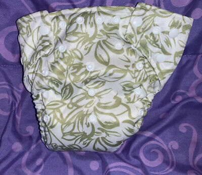 Kawaii Baby One Size Pocket Cloth Diaper with microfiber inserts
