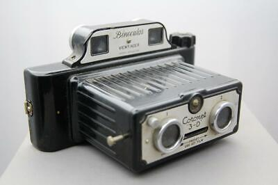 Coronet 3-D camera, binocular viewfinder., working order.