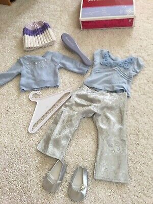 American Girl Doll Retired Nellie Outfit Set With Accessories  Perfect 4 Gift