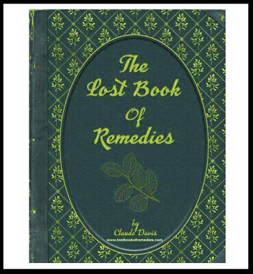 🔥The Lost Book of Herbal Remedies By Claude Davis🔥with color pictures🔥P.D.F⚡