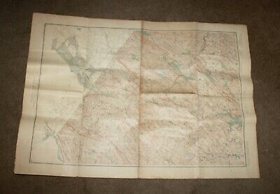 ANTIQUE Map 1916 NEW JERSEY DEPT CONSERVATION Includes MINES & QUARRIES!