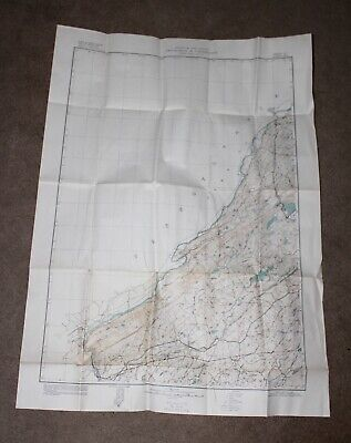 VINTAGE Map 1946 NEW JERSEY DEPT CONSERVATION Includes MINES & QUARRIES!