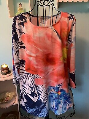 Womens Shirt Top Blouse Size Large Christopher And Banks
