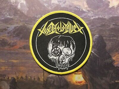 Toxic Holocaust Hell On Earth Thrash Metal Crossover Patch D.r.i S.o.d