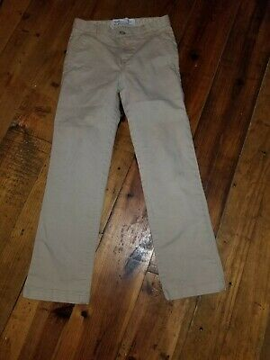 OLD NAVY Girls Khaki Pants 10 Slim